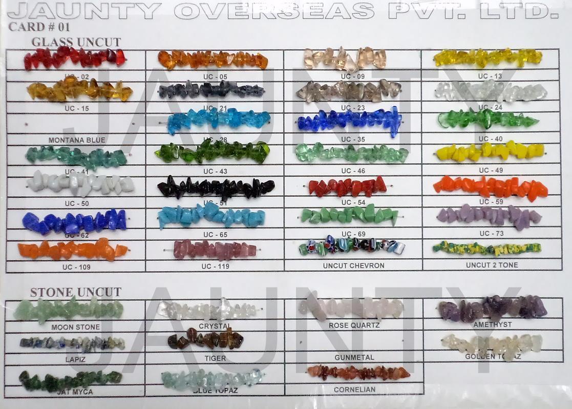 Uncut Beads