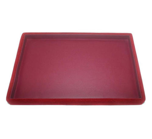 Red Tray Faux Leather
